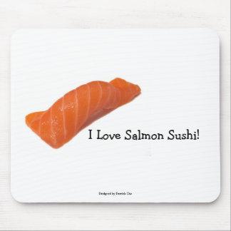 salmonsushi, I Love Salmon Sushi!, Designed by ... Mouse Pad