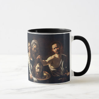 Salome With Head of John The Baptist - Caravaggio Mug