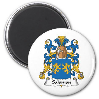 Salomon Family Crest Magnet