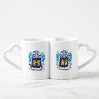 Salomone Coat of Arms - Family Crest Coffee Mug Set