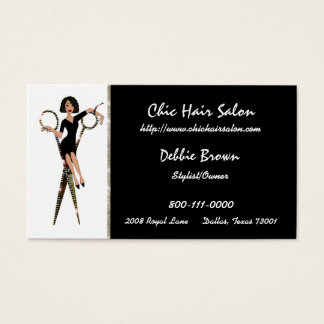 Salon (African American) Business Cards