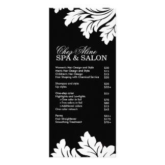 Salon and Spa Rack Card
