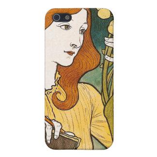 Salon des Cent, Eugène Grasset iPhone 5 Cover