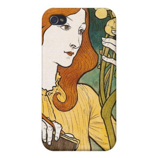 Salon des Cent, Eugène Grasset iPhone 4/4S Case