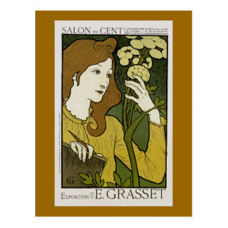 Eugene grasset postcards for Salon exposition