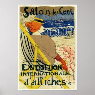Salon des Cent ~ Exposition Internationale Posters