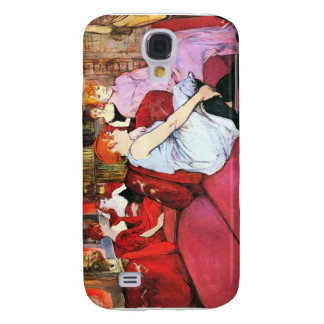 Salon in the Rue de Moulins by Toulouse-Lautrec Samsung Galaxy S4 Covers