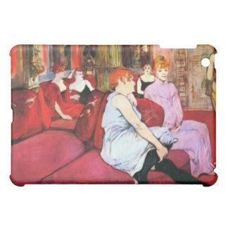 Salon in the Rue de Moulins by Toulouse-Lautrec iPad Mini Cases