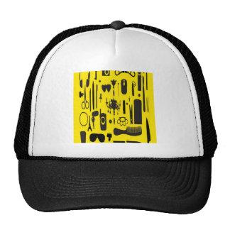 Salon instruments selection design hat