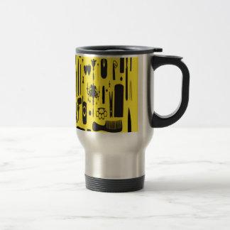 Salon instruments selection design coffee mug