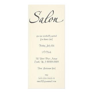Salon Custom Invitation