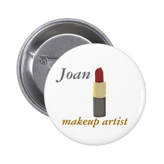 Salon Make-up Artist 6 Cm Round Badge