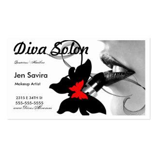 Salon/ Makeup Artist Business Card