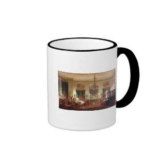 Salon of Princess Mathilde Bonaparte Ringer Coffee Mug