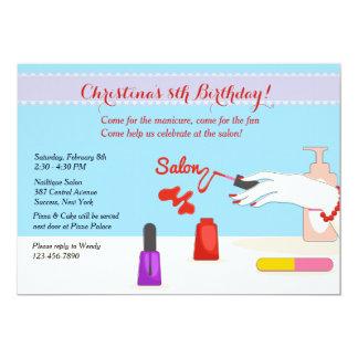 Salon Party Invitation