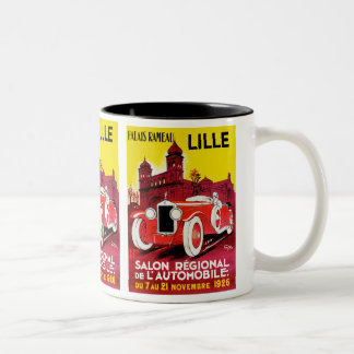 Salon Regional De L'Automobile ~ Lille Two-Tone Coffee Mug