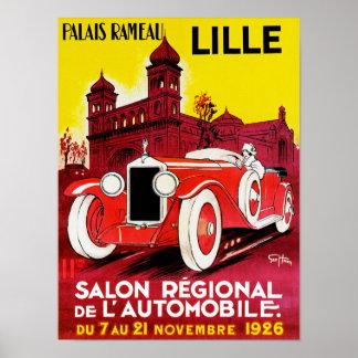Salon Regional De L'Automobile ~ Lille Poster