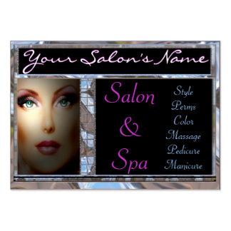 Salon/Spa Customizable Business Card
