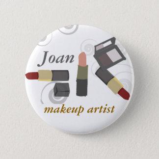 Salon Spa Makeup Artist Cosmetic 6 Cm Round Badge