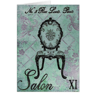 Salon XI ~ Greeting / Note Card