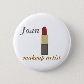 Salons Makeup Artist 6 Cm Round Badge