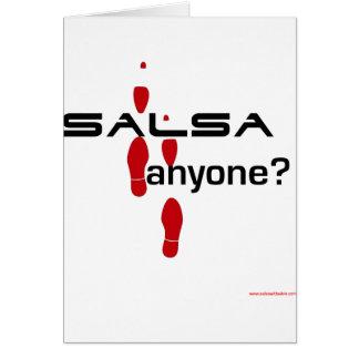Salsa Anyone? Greeting Cards