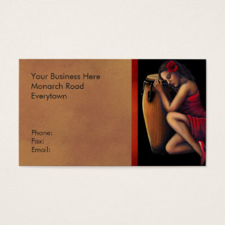 Salsa Caliente Business Card