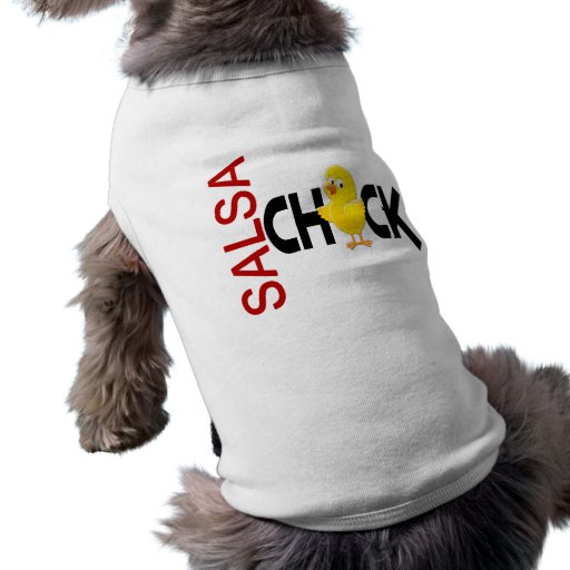 Salsa Chick Dog Shirt