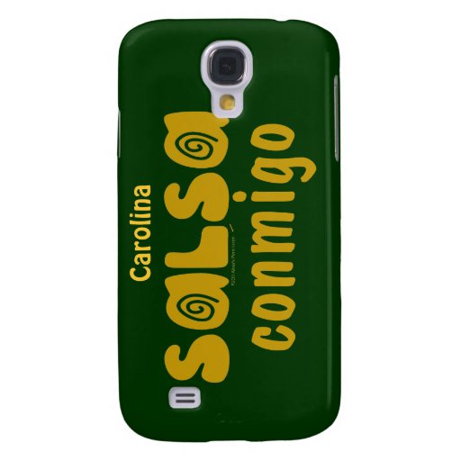 Salsa Conmigo Dancing Personalized iphone 3g Skin Samsung Galaxy S4 Case
