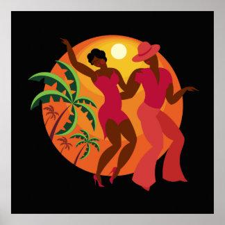 Salsa Dancer Series 1 Poster Lg.