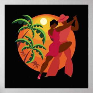 Salsa Dancer Series 2 Poster Lg.