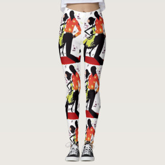 SALSA DANCING CUSTOMS LEGGINGS