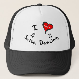 Salsa Dancing Hat   - I Heart Salsa Dancing