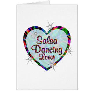 Salsa Dancing Lover Card