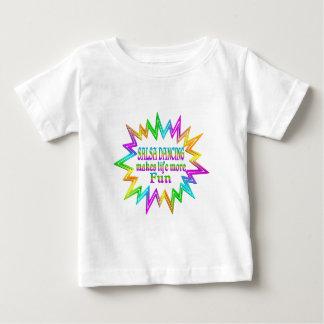 Salsa Dancing More Fun Baby T-Shirt