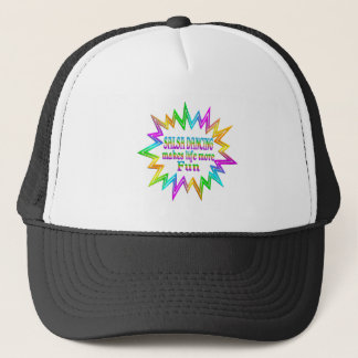 Salsa Dancing More Fun Trucker Hat