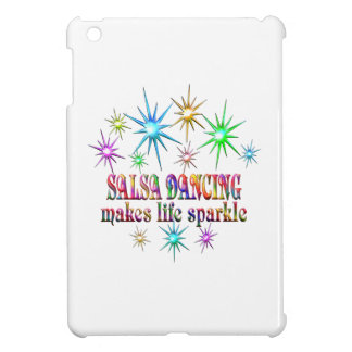 Salsa Dancing Sparkles iPad Mini Covers