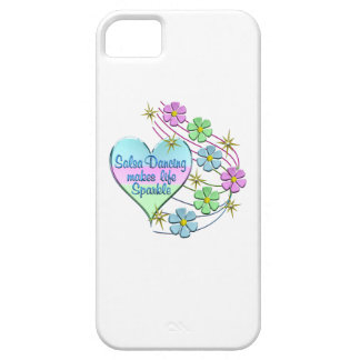 Salsa Dancing Sparkles iPhone 5 Case