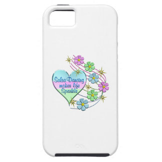 Salsa Dancing Sparkles iPhone 5 Cover