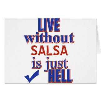 SALSA DESIGN CARD