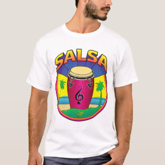 SALSA DRUM-3 T-Shirt