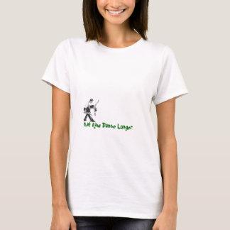 Salsa, Eat Raw Dance Longer Light Green T-Shirt