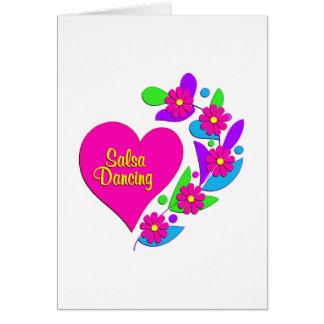 Salsa Heart Card