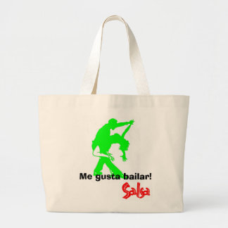 Salsa! Jumbo Tote Bag