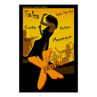 Salsa - Latin X Night Poster