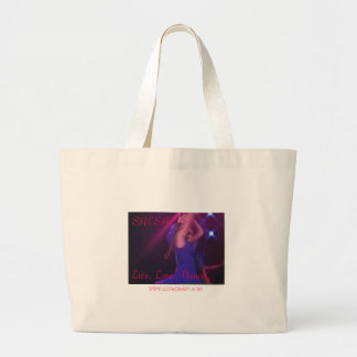 SALSA Live Love Dance WWW LETHER Canvas Bags