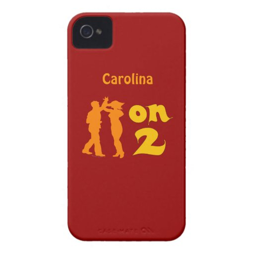 Salsa On Two Dancing Personalized Blackberry Cover Blackberry Bold Covers