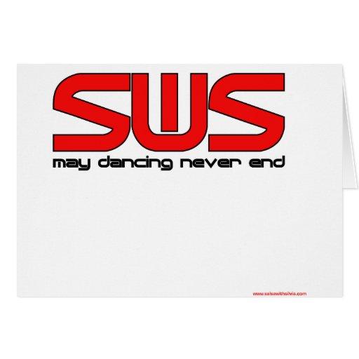 Salsa With Silvia Card