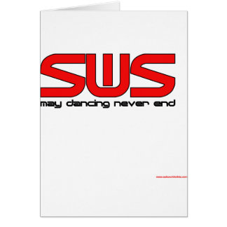 Salsa With Silvia Greeting Card