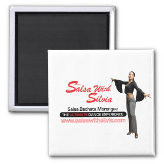 Salsa With Silvia Magnet